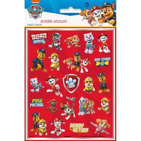 Paw Patrol Sticker Sheets