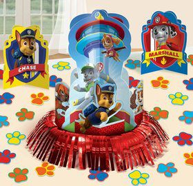 Paw Patrol Table Decorating Kit Each
