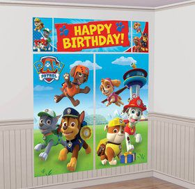 Paw Patrol Wall Decorating Kit (Each)