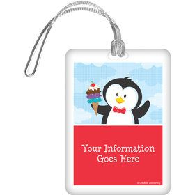 Penguin Personalized Luggage Tag (Each)