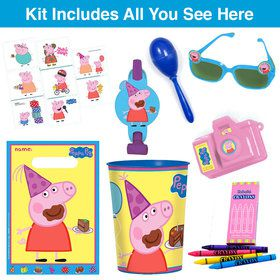 Peppa Pig Deluxe Favor Goodie Bag (1)