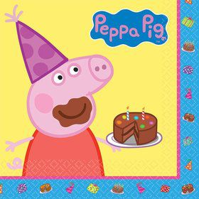 Peppa Pig Luncheon Napkins (Set of 16)