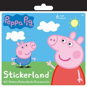 Peppa Pig Mini Sticker Pad (120 Stickers)