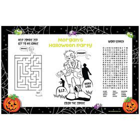 Perfect Pumpkin Personalized Activity Mat (8 pack)