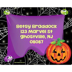 Perfect Pumpkin Personalized Address Labels (Sheet of 15)