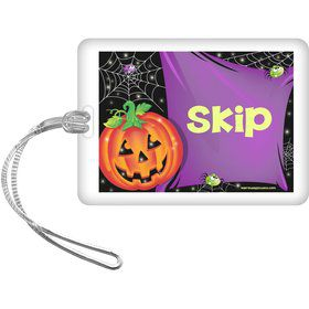 Perfect Pumpkin Personalized Bag Tag (Each)