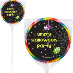 Perfect Pumpkin Personalized Lollipops (12 Pack)
