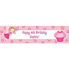 Perfectly Pink Personalized Banner (each)