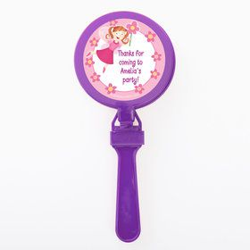 Perfectly Pink Personalized Clappers (Set of 12)