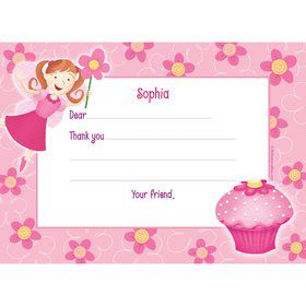 Perfectly Pink Personalized Thank You Note (each)