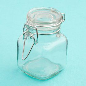 Perfectly Plain Glass Apothecary Jar