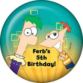 Phineas And Ferb Personalized Magnet (Each)