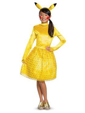 Pikachu Girl Classic Child Costume