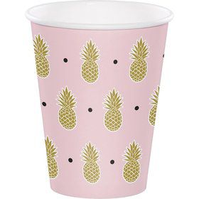 Pineapple 12oz Hot/Cold Cup (8)