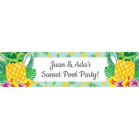 Pineapple Personalized Banner (Each)