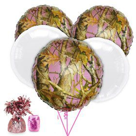 Pink Camo Balloon Kit (Each)