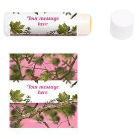 Pink Camo Personalized Lip Balm (12 Pack)