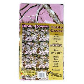 Pink Camo Table cover (each)