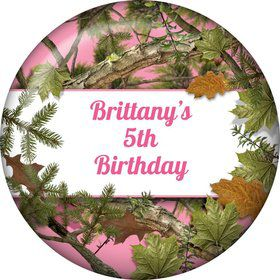 Pink Cover Personalized Magnet (Each)