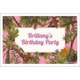 Pink Cover Personalized Placemat (Each)