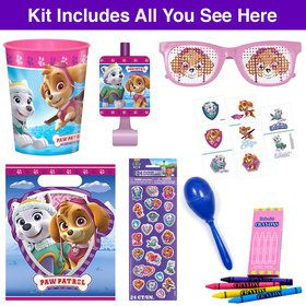 Pink Paw Patrol Deluxe Favor Goodie Bag (1)