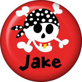Pirate Birthday Personalized Mini Magnet (each)