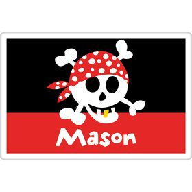 Pirate Birthday Personalized Placemat (each)