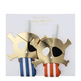 Pirates Bounty Party Blowers (4)