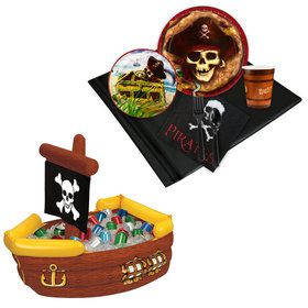 Pirates Tableware Cooler Kit