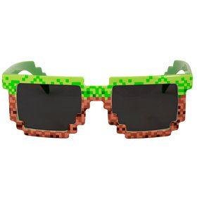 Pixel Glasses - Brown/Green