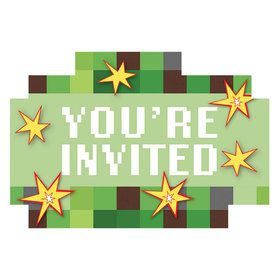 Pixelated Invitations (8)