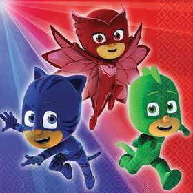 PJ Masks Beverage Napkins (16 Count)