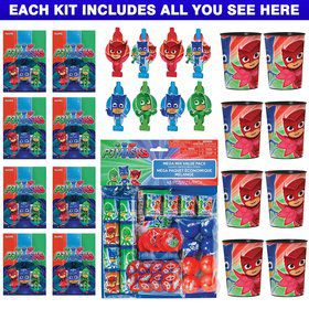 PJ Masks Favor Kit (For 8 Guests)