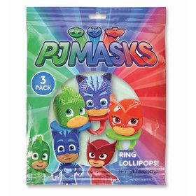 PJ Masks Lollipop Rings (3 Count)