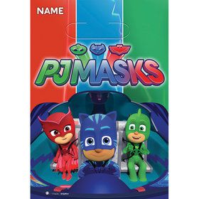 PJ Masks Loot Bags (8 Count)