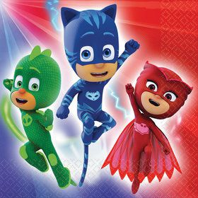 PJ Masks Luncheon Napkins (16 Count)