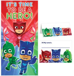PJ Masks Party Welcome Kit
