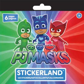 PJ Masks Sticker Pad (120 Stickers)