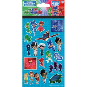 PJ Masks Stickers (4 Sheets)