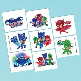 PJ Masks Tattoos (1 Sheet)