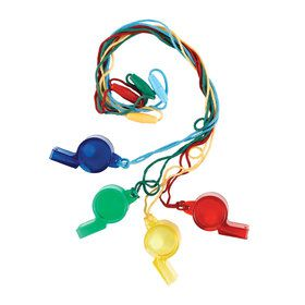 Play Whistles - Assorted (Each)