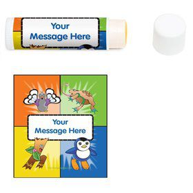 Pocket Monsters Personalized Lip Balm (12 Pack)