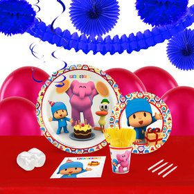 Pocoyo 16 Guest Tableware Decoration Kit