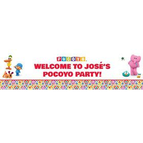 Pocoyo Personalized Banner (Each)