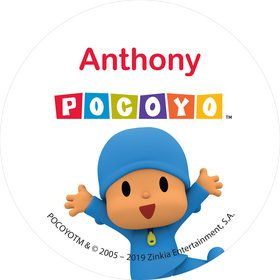 Pocoyo Personalized Mini Stickers (Sheet of 24)