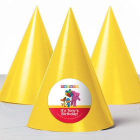 Pocoyo Personalized Party Hats (8 Count)