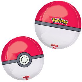 "Pokeball 16"" Orbz Balloon"