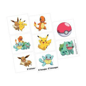 Pokemon Tattoo Favors (8)