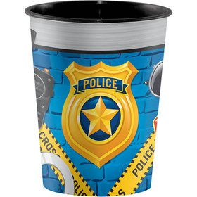 Police Party 16oz Favor Cup (1)