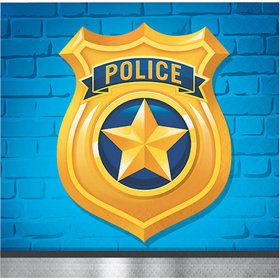 Police Party Beverage Napkin (16)